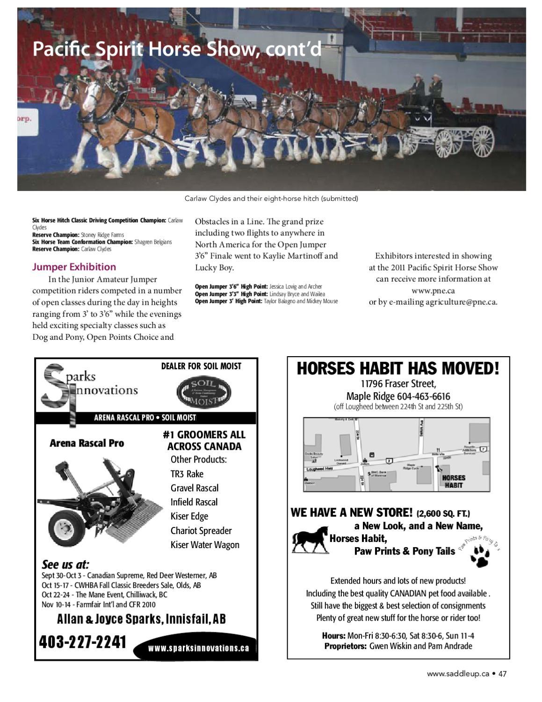 Saddle Up October 2015 by Saddle Up magazine - Issuu
