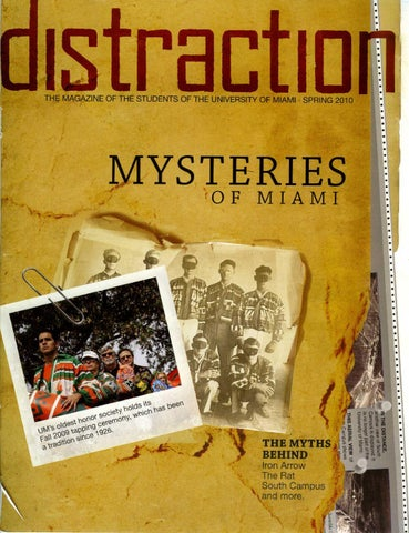 Issue Six of Distraction Magazine