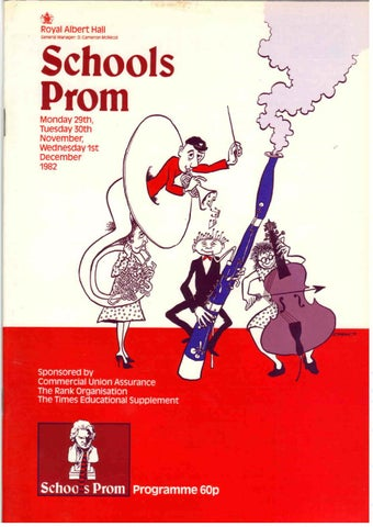 Schools Prom 1982 By Music For Youth Issuu