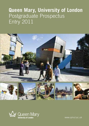 promo code f4645 d077a Queen Mary, University of London Postgraduate Brochure entry 2011 by ...