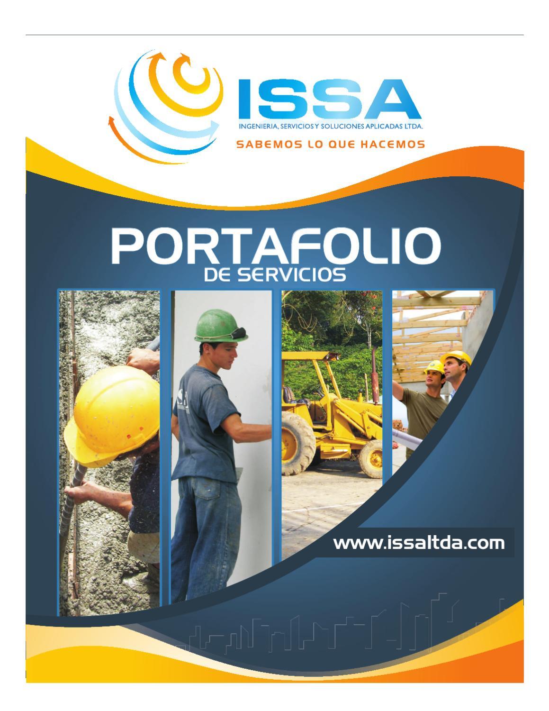 Portafolio obra civil by issa ltda issuu for Servicios de construccion