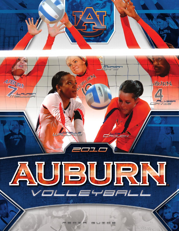 2010 Auburn Volleyball Media Guide By Auburntigers Com Issuu