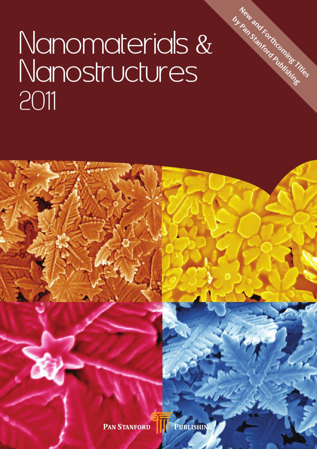 Nanomaterials & Nanostructures 2011 by Pan Stanford Publishing - issuu