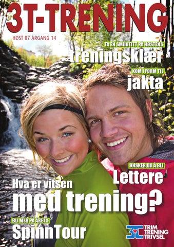 eacf2416 3T-TRENING høst 2007 by 3T-TRENINGSSENTER - issuu