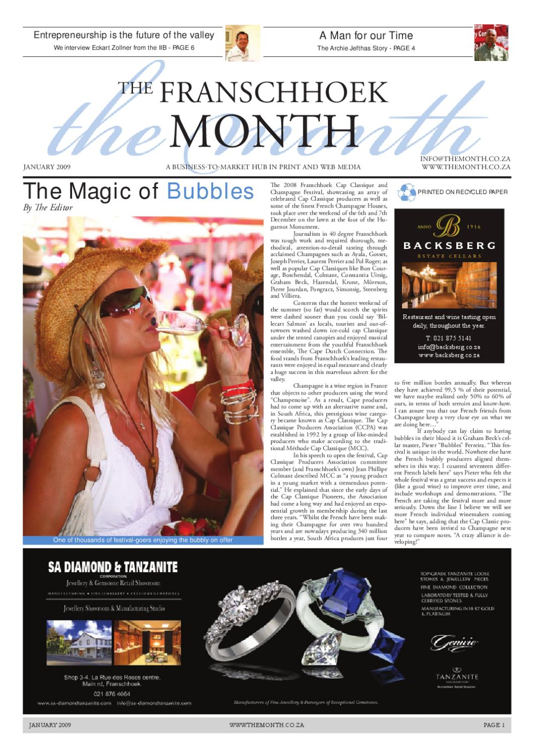 Http Www Themonth Co Za Archive January 09 By The Month Issuu