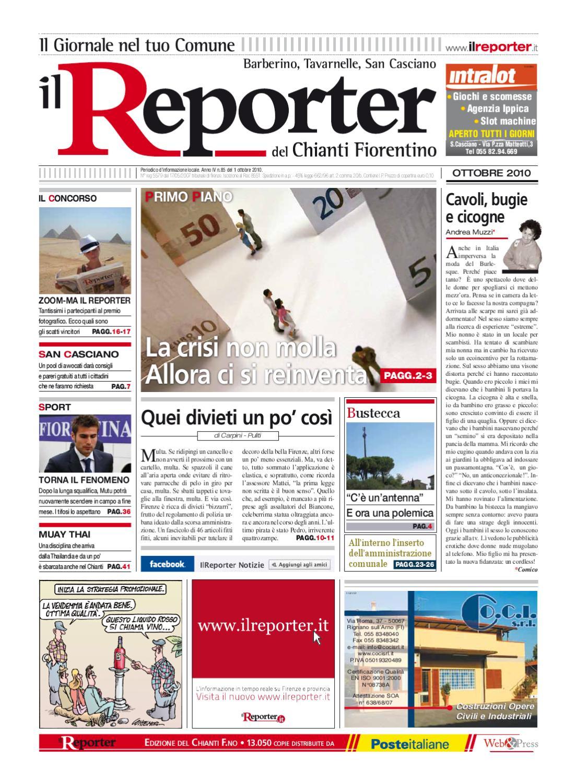 Il reporter-Tavarnelle-ottobre-2010 by ilreporter - issuu 2b76c5fd306