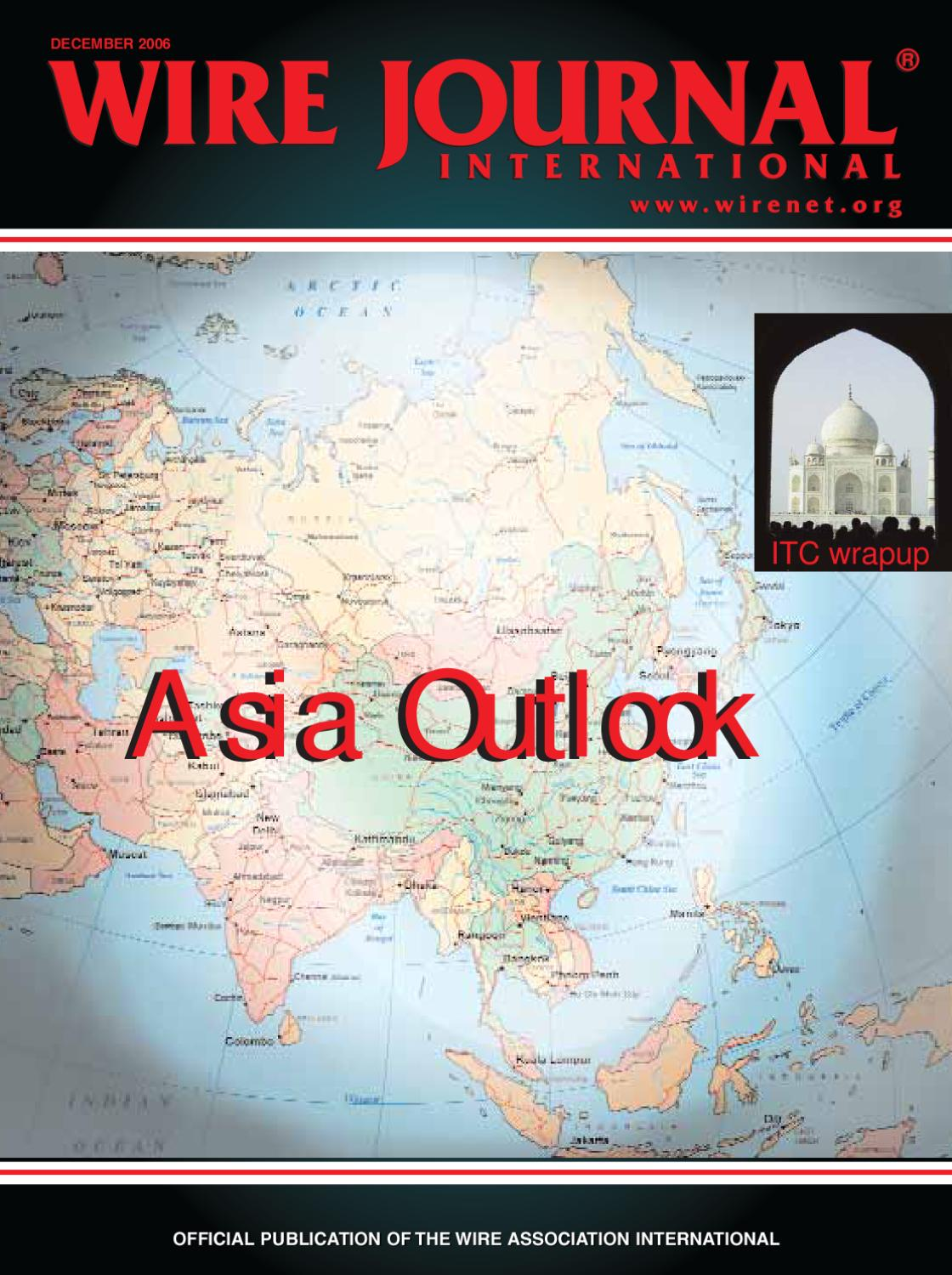 Asia Outlook By Wire Journal International Inc Issuu Surface Mounted Box And Wiring 1407 Chase