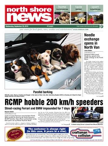 90ccaeb303 North Shore News September 29 2010 by Postmedia Community Publishing ...