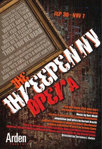 The Threepenny Opera Stagebill by Kristy Giballa - issuu