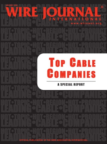 Wire And Cable Manufacturers | Top Cable Companies By Wire Journal International Inc Issuu