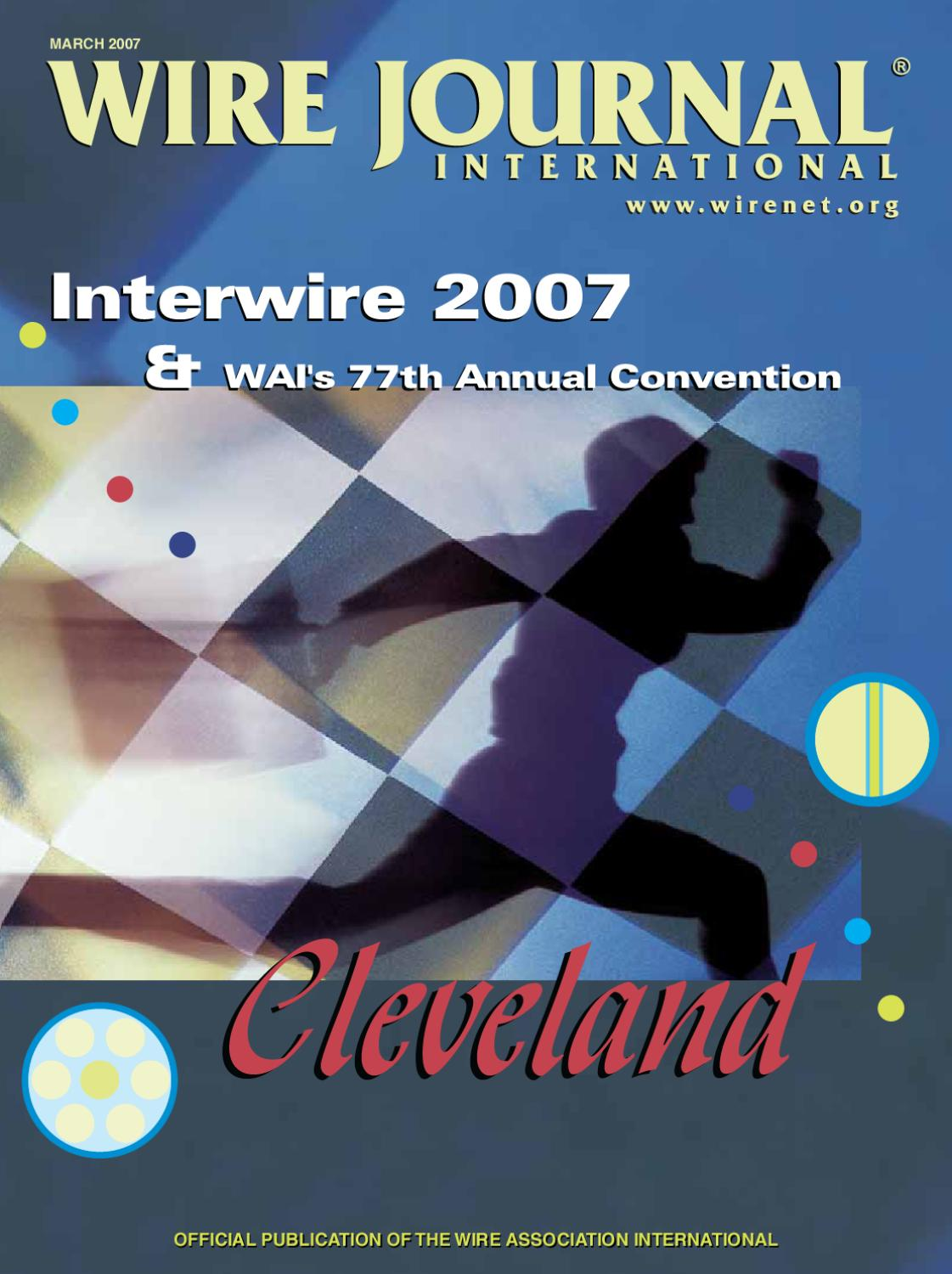 Interwire 2007 By Wire Journal International Inc Issuu Wiring Numbering Convention