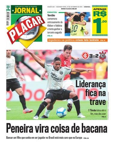 Jornal Placar ed 202 set 2010 by Revista Placar - issuu 498c5cc4a79e0