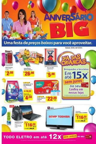 e7fb3317f Folheto aniversário Big - PR by Hipermercado Big - issuu