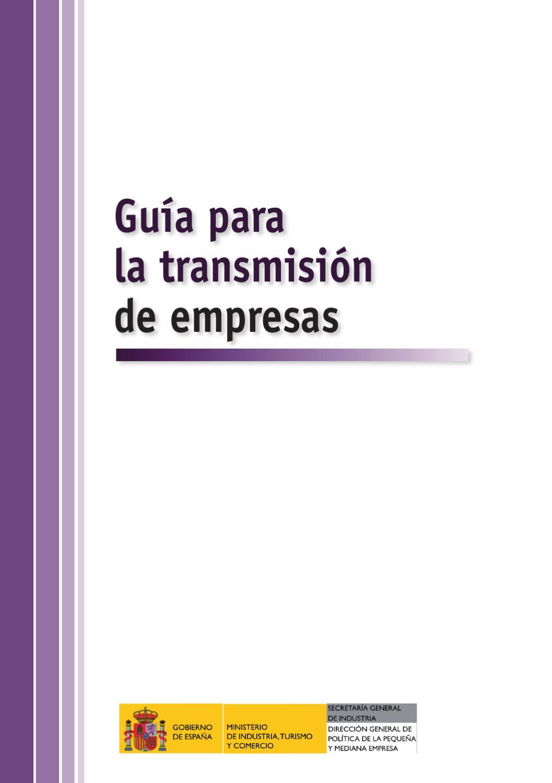 Guía para la Transmisión de empresas by Infoisla Administrador - issuu