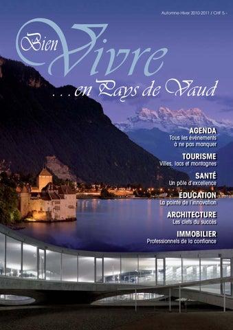 Bien Vivre By Editions 2010 En Hiver Pays Vaud Issuu De C4qFqaxn