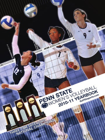 2011 Penn State Women's Volleyball Media Guide by Penn State Athletics -  issuu