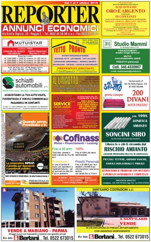 5dce41bef8 Reporter Annunci 1 Ottobre 2010 by Reporter - issuu