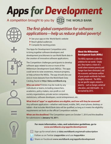 Apps for Development by World Bank Group Publications - issuu