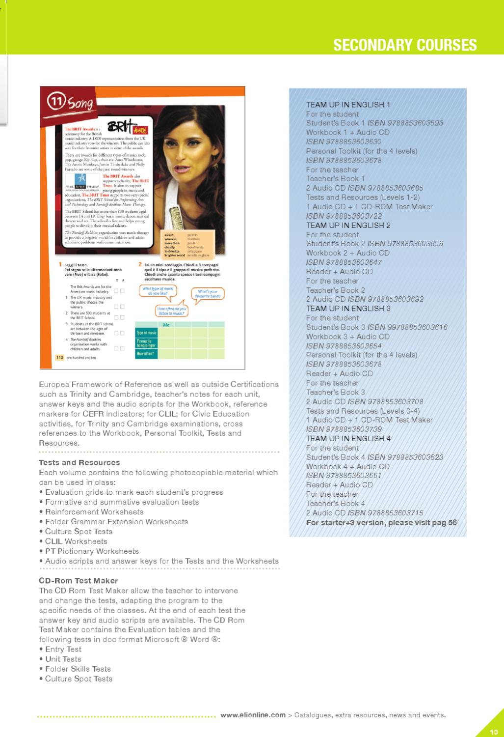 English 2010-2011 by ELI Publishing - issuu