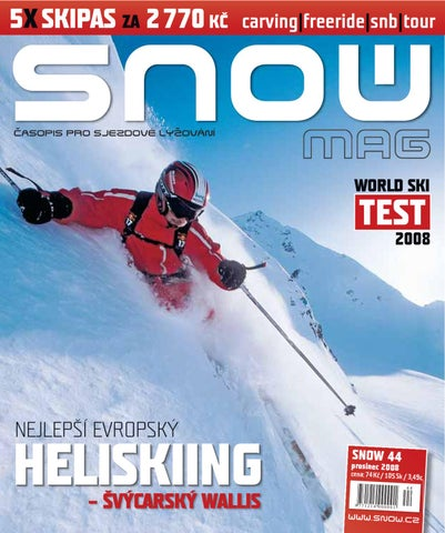 SNOW 44 - prosinec 2008 by SNOW CZ s.r.o. - issuu b8381503e9