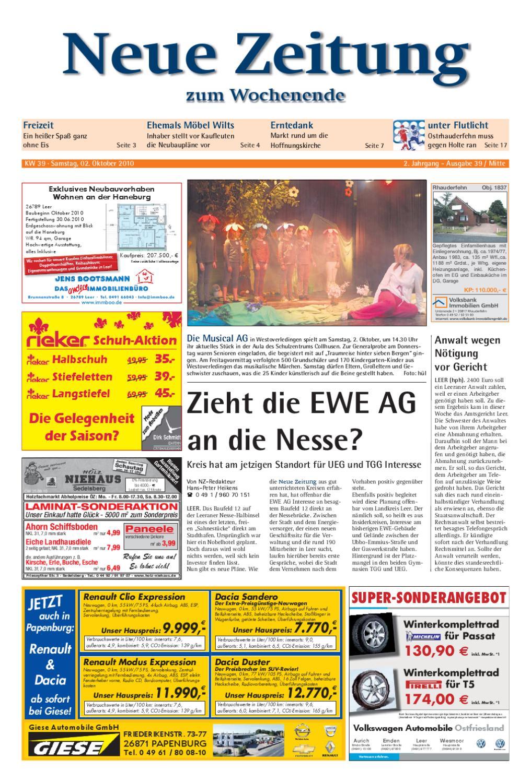 buy popular a6201 980d7 Neue Zeitung - Ausgabe Mitte KW 39 by Gerhard Verlag GmbH - issuu