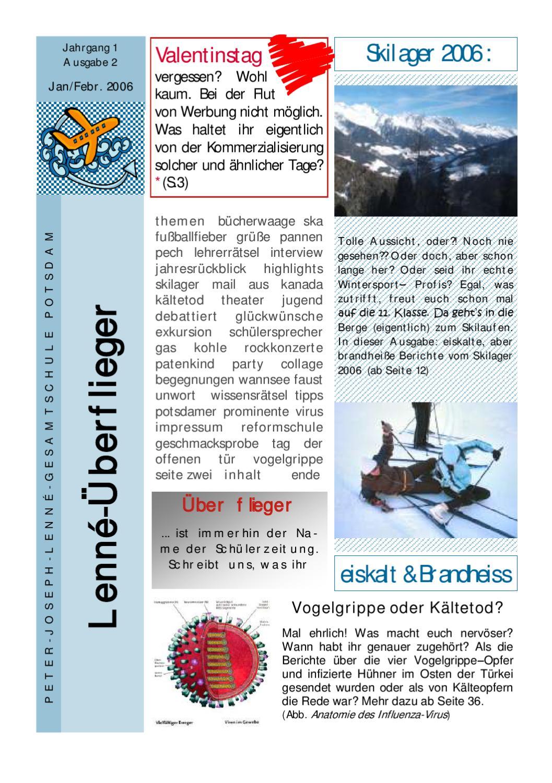 Lenné Überflieger Ausgabe 2 by Oleg Bystrov - issuu