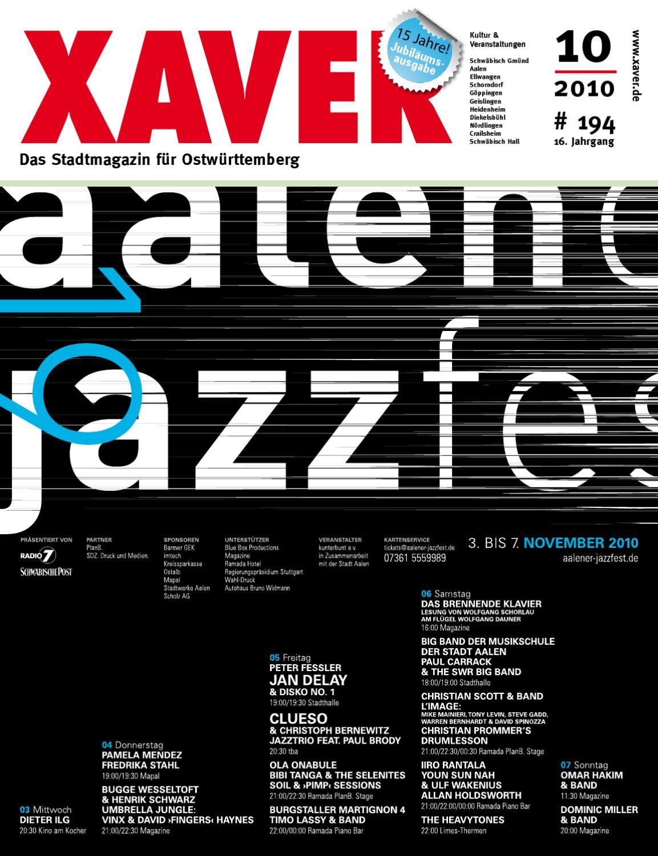 XAVER   Oktober '10 by Hariolf Erhardt   issuu