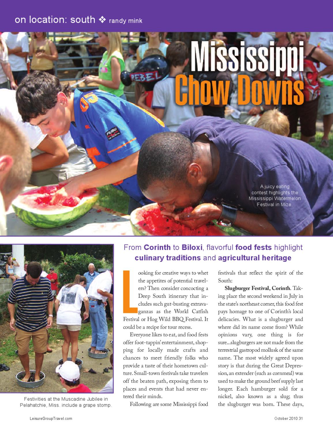 Mississippi group travel ideas by Premier Travel Media - issuu
