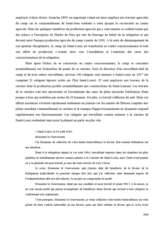 La Relegation Des Recidivistes En Guyane Francaise By Bibliotheque