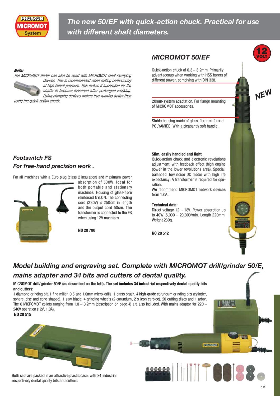 Proxxon micromot by Carbon Copy SRL - issuu