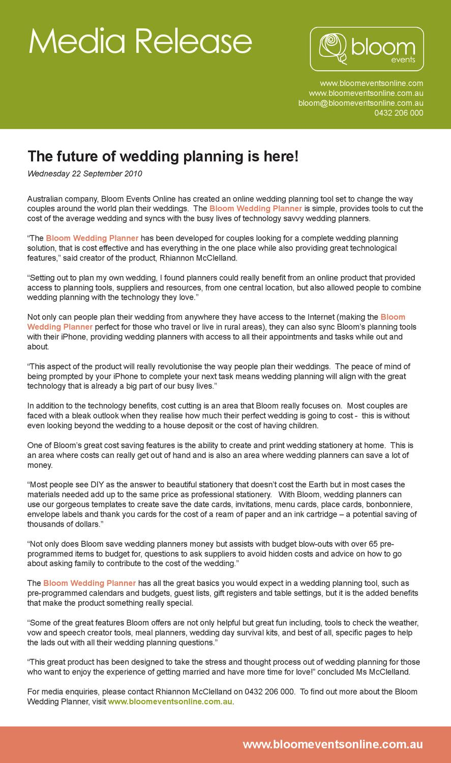 the future of wedding planning is here by rhiannon mcclelland issuu