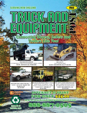 82f98471159 Truck And Equipment Post Magazine -  52-01 by 1ClickAway - issuu