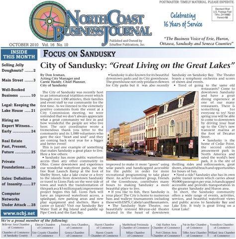 North Coast Business Journal October 2010 By Paul Wallen Issuu