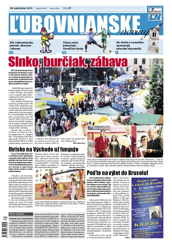 Ľubovnianske noviny č. 37 by Vladimir Zima - issuu ff0e227902b