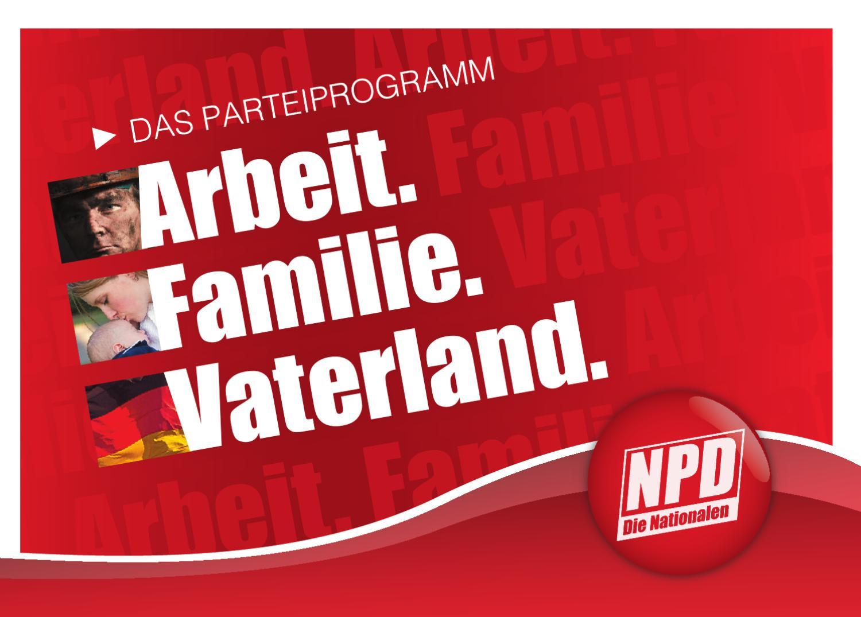 Npd Parteiprogramm