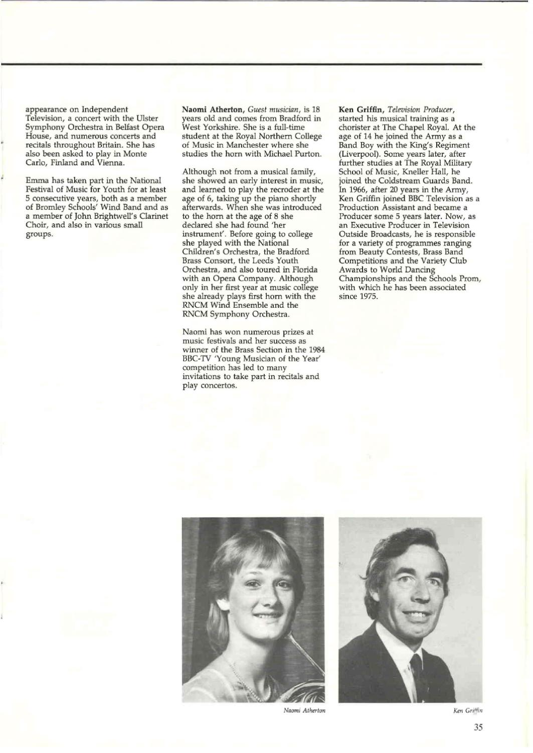 Schools Prom 1984 by Music for Youth - issuu