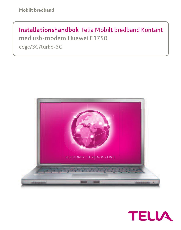 telia mobilt bredband långsamt