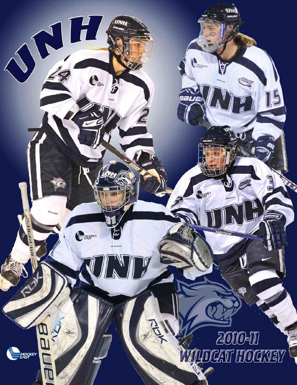 d19b51f95707 2010-11 UNH Women s Ice Hockey Media Guide by University of New Hampshire  Athletics - issuu