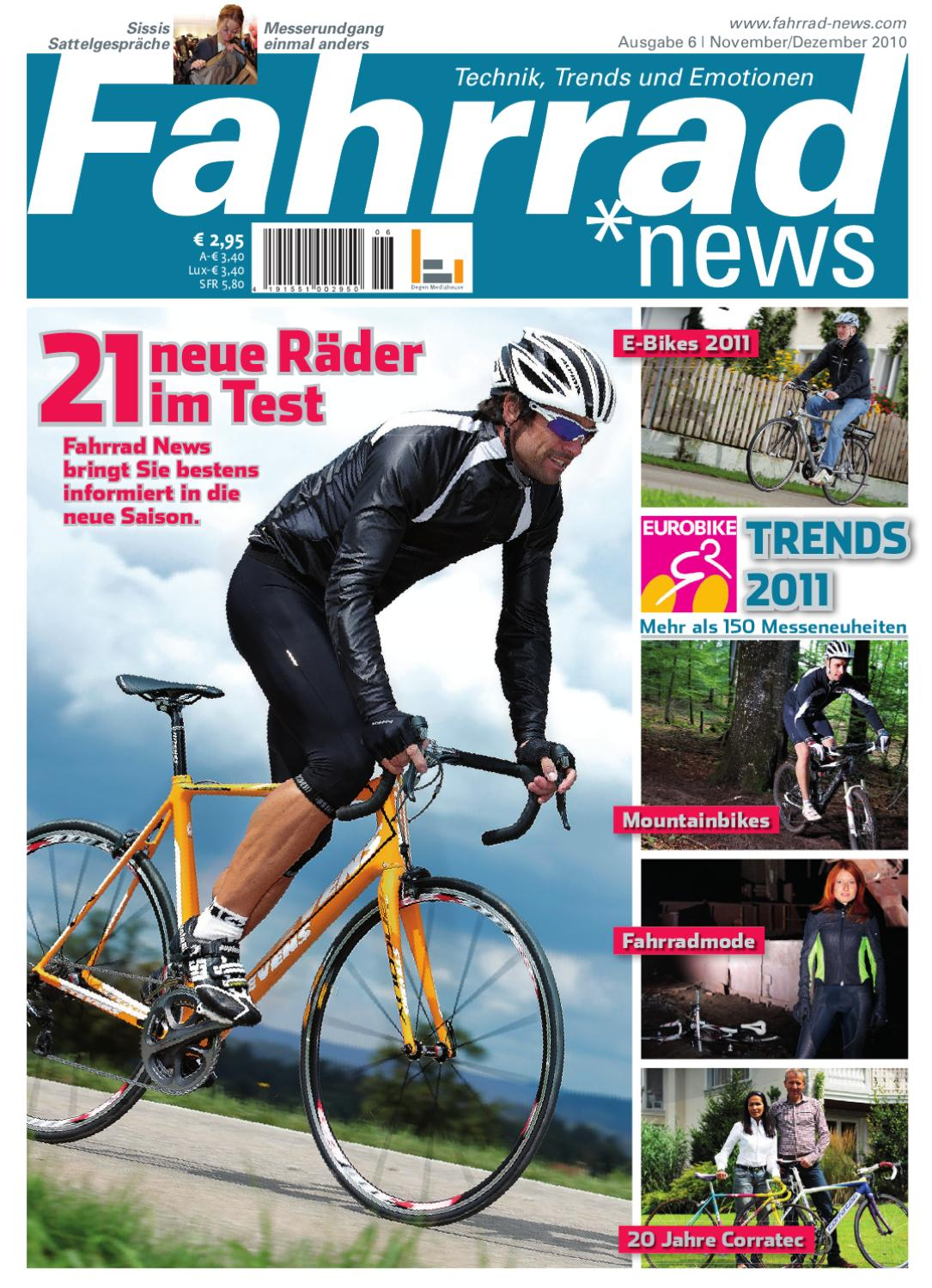fahrrad news 6 2010 by degen mediahouse gmbh issuu. Black Bedroom Furniture Sets. Home Design Ideas