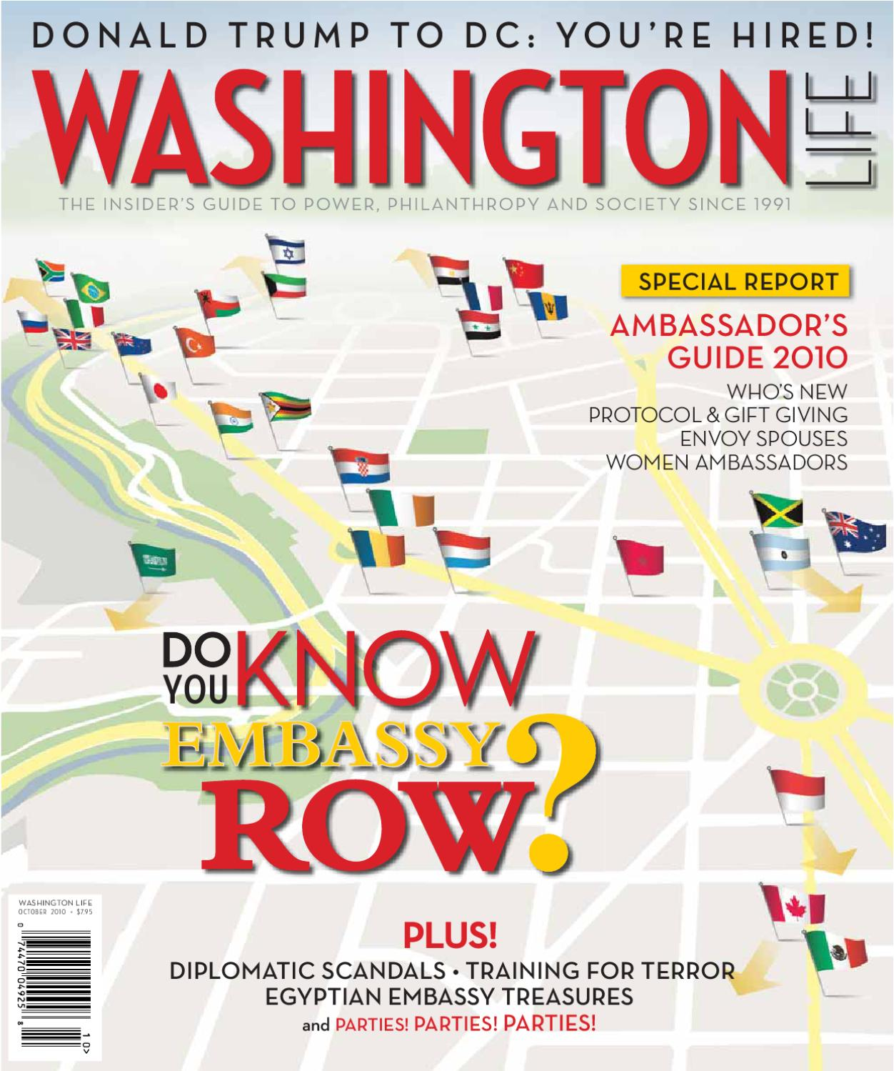 Washington Life Magazine - October 2010