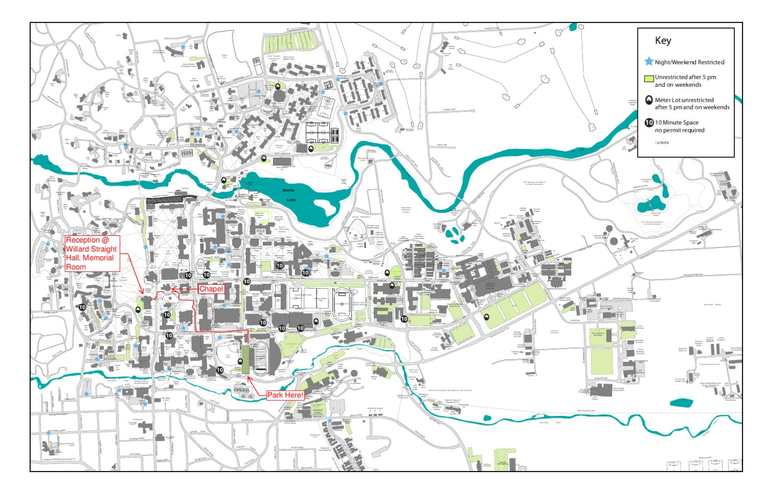 Cornell Parking Map by Steven Rodriguez - issuu