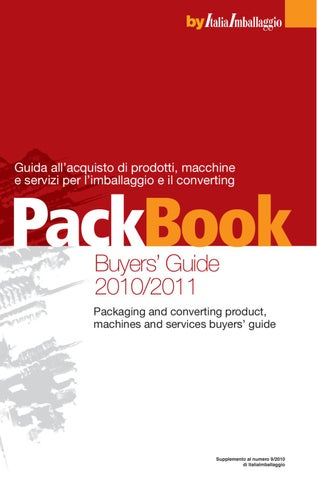 PackBook Buyers  Guide 2010 2011 by Edizioni Dativo - issuu 62400e3492bf