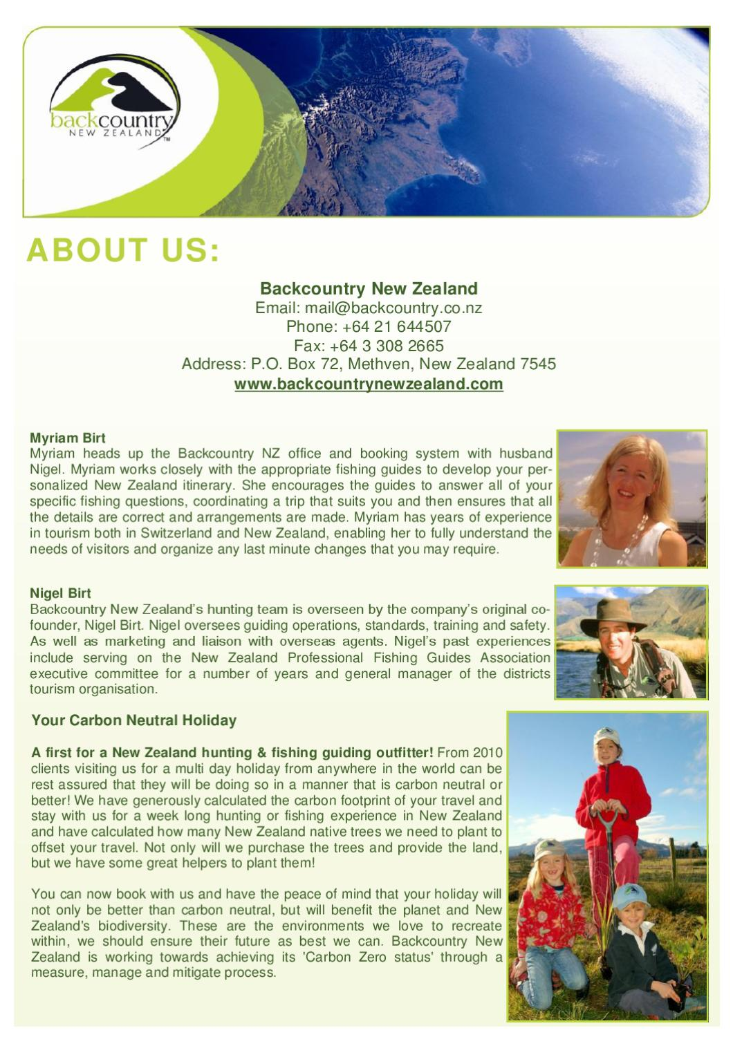 Fly Fishing in New Zealand Information by Nigel Birt - issuu