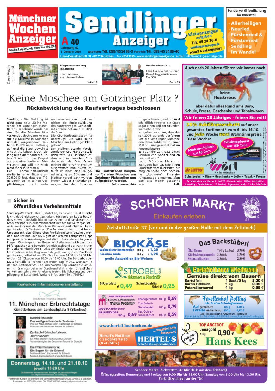KW 40-2010 by Wochenanzeiger Medien GmbH - issuu
