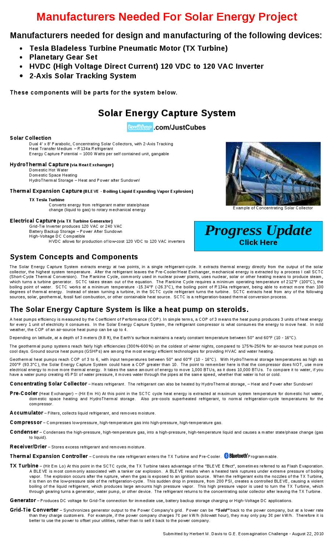 Solar Energy Capture System - Engineering by Herb Davis - issuu