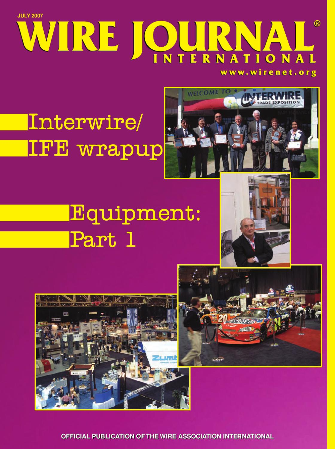 Equipment Part 1 By Wire Journal International Inc Issuu Surface Mounted Box And Wiring 1407 Chase