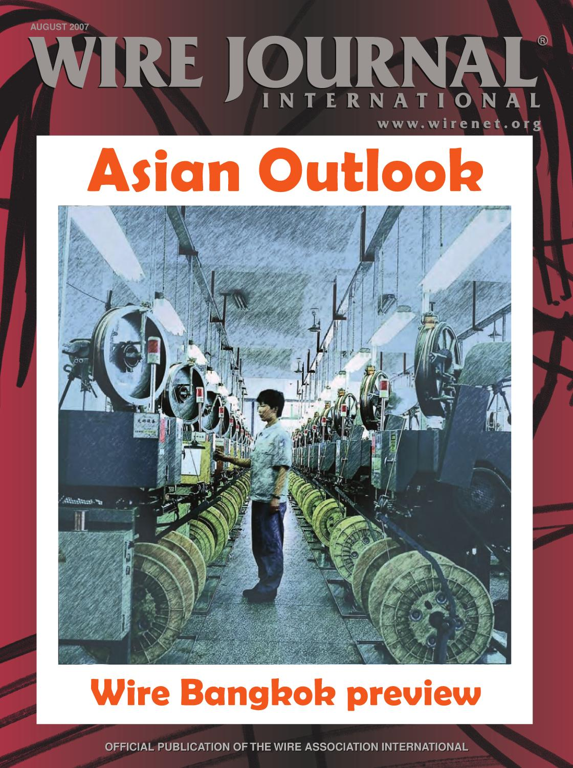 Asian Outlook by Wire Journal International, Inc. - issuu