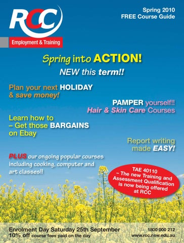 Rcc spring newsletter by joel brown issuu page 1 fandeluxe Choice Image