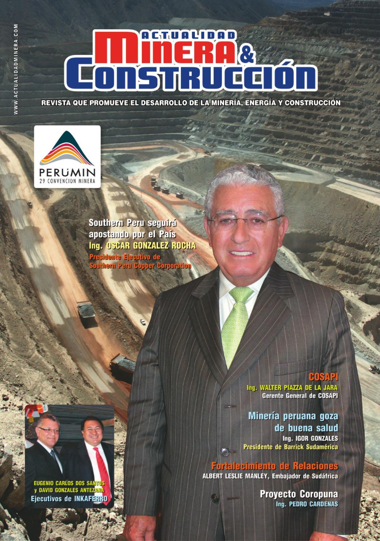 Revista Actualidad Minera & Construccion - Nº 6 by FRANKLIN CARNICA ...