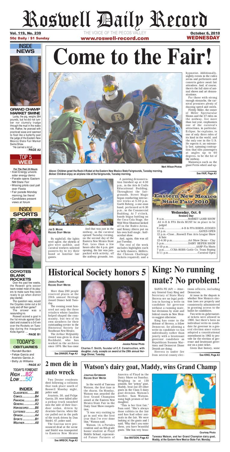 3f7705adad0 newspaper by Roswell Daily Record - issuu
